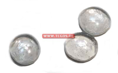 "Glas Token ""Chrome - clear"" (25)"