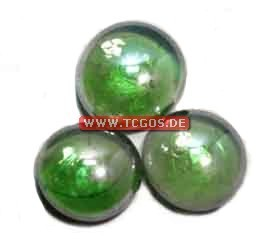 "Glas Token ""Chrome - green"" (25)"