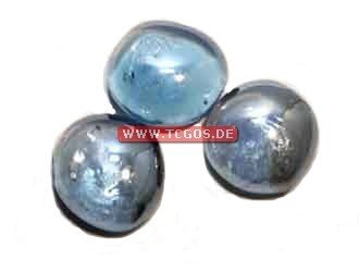 "Glas Token ""Chrome - lightblue"" (25)"
