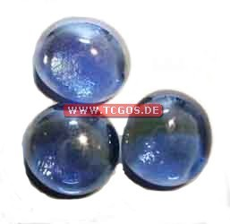 "Glas Token ""Chrome - darkblue"" (25)"