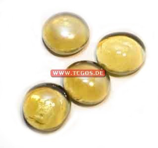"Glas Token ""Chrome - yellow"" (25)"
