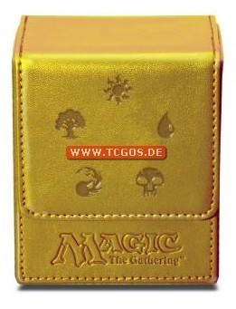 "Ultra-PRO Flip-Deckbox ""MtG - gold (all) Mana"" V1"
