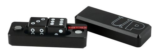 "UP Dice ""W6 Gravity - metal/black"" (2)"