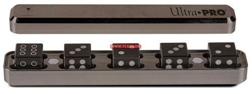 "UP Dice ""W6 Gravity - metal/gunmetal grey"" (5)"