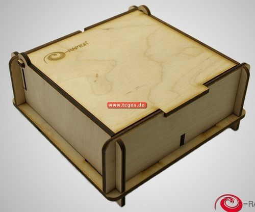 "e-Raptor D&T-Storage ""Box - small"" (Holz)"