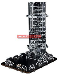"BF Dice-Rolling ""Twister Tower - crystle"" (Acryl)"