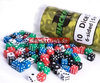 "BF Dice ""W6 - opaque green - 5mm"" (10)"