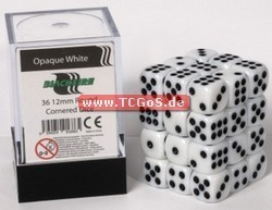 "BF Dice ""W6 Set - opaque white - 12mm"" (36)"