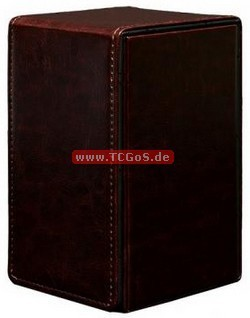 "Ultra-PRO Tower Deckbox ""Alcove - Cowhide"""