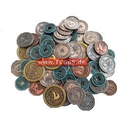 "Stonemaier ""Scythe - Realistic Metal Coins"""